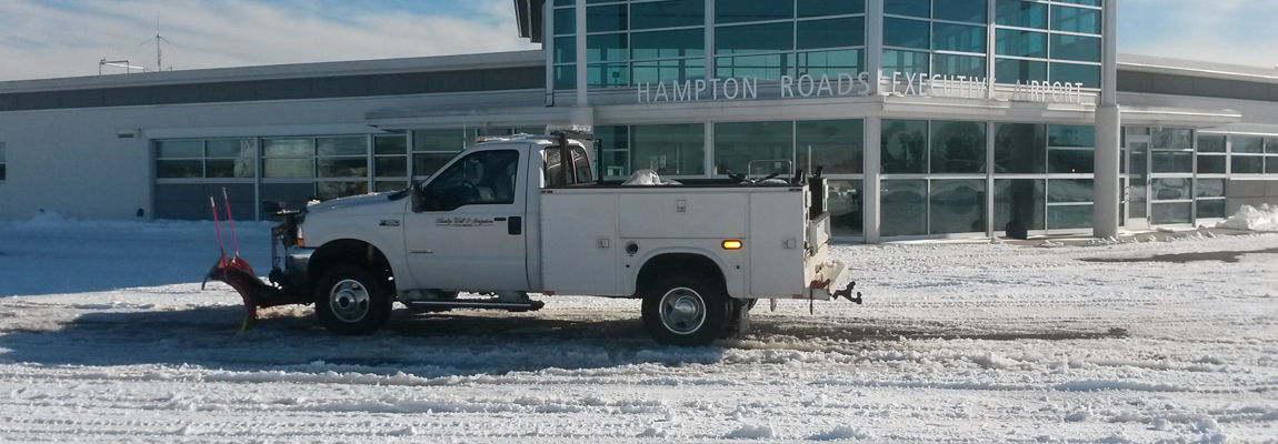 Airport Snow/Ice Removal & Maintanance